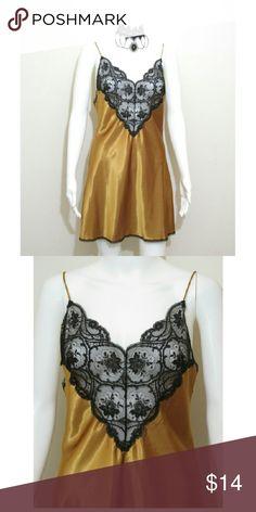 Vintage Lingerie Sheer lace front Vintage Intimates & Sleepwear