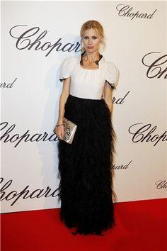 Modelo, escritora y embajadora del British Fashion Council, Laura Bailey Laura Bailey, Jeremy Irvine, Cara Delevingne, Chopard, British Style, British Fashion, Lace Skirt, Red Carpet, Girl Fashion