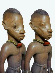 Yoruba Ere Ibeji (Twin Figure), Awori - Ado Odo, Nigeria http://www.imodara.com/post/97747979219/nigeria-yoruba-ere-ibeji-twin-figure-awori