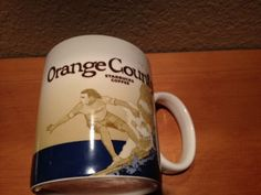 Starbucks-2008-Orange-County-Surfer-Collector-Series-C 16 oz Real HousewivesArea…