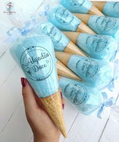 Party Sweets, Candy Party, Ice Caramel Macchiato, Yummy Ice Cream, Candy Floss, Baby Shower Decorations For Boys, Edible Food, Aesthetic Food, Cute Food