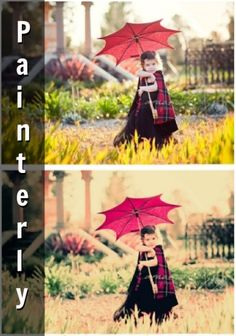 Photoshop tutorial...Painterly photoshop action for an artistic look