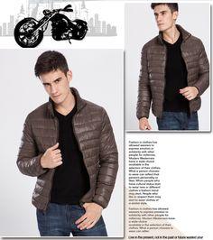 Otoño binbo chaqueta de algodón acolchado hombres chaqueta delgada delgada wadded prendas de vestir exteriores en Abrigos de plumas de Moda y Complementos Hombre en AliExpress.com | Alibaba Group