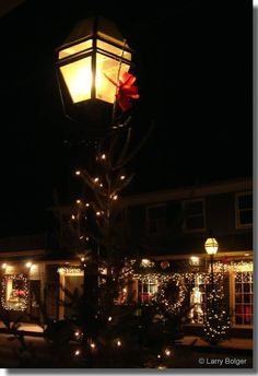Christmas time in Kennebunkport, Maine