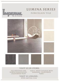 Lumina Modern Porcelain Tile  www.imptile.com