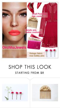 Orchhajewels by teoecar on Polyvore featuring self-portrait, Miu Miu, vintage, cassiopeiafall and orchhajewels