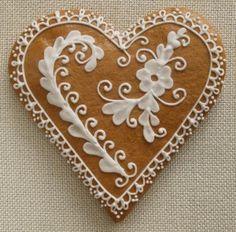 mezeskalacs Ginger Cookies, Iced Cookies, No Bake Cookies, Sugar Cookies, Valentine Cookies, Christmas Cookies, Valentines, Christmas Pillow, Winter Christmas