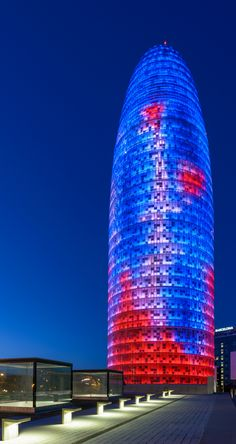 Torre Agbar I | Torre Agbar (1999-2004). Architects: Atelier… | Flickr