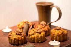 Gourd muffins  Muffins à la courge