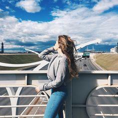 #girl #sky #spb #vsco #vscocam