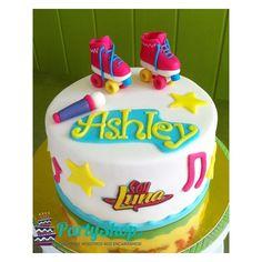 tortas de soy luna de disney - Buscar con Google Frozen Birthday Party, Frozen Party, Birthday Cake, Soy Luna Cake, Fondant Cakes, Cupcake Cakes, Bolo Laura, Roller Skate Cake, Emoji Cake