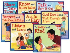 Learning to Get Along Picture Book Set at Lakeshore Learning