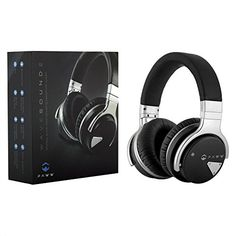 Paww Over Ear Headphones Paww WaveSound 2 Active Noise Cancelling Bluetooth Headphones with Custom Carry Case Black *** For more information, visit image link. (This is an affiliate link) Good Quality Headphones, Headphones For Sale, Running Headphones, Best Headphones, Bluetooth Headphones, Over Ear Headphones, Headphone With Mic, Noise Cancelling Headphones, Iphone Accessories