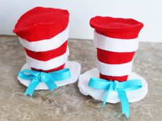 Cat in the hat top inspired photo prop for boys or girls / 1st one on etsy.. no copy cat... $13.00, via Etsy.