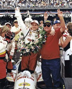 Kenny Brack becomes the first Swede to win the Indy 500. A.J. Foyt wins Indy 500 5 times as owner and driver. Indy 1999.