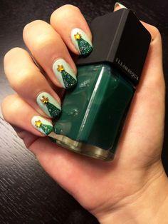 Ideas de nail art para esta navidad :)
