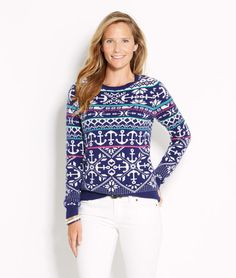 Womens Fair Isle Sweater at Old Navy. Not sure why her hair looks ...
