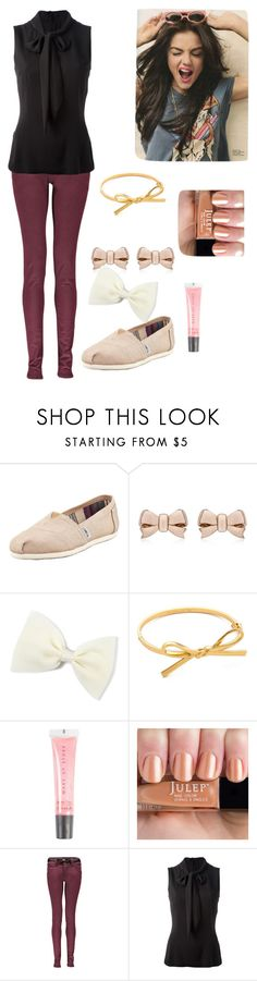 """Eggs and Bacon (London)"" by fiat-justitia ❤ liked on Polyvore featuring TOMS, Thomas Sabo, Kate Spade, MAKE UP STORE, Boohoo and Dolce&Gabbana"