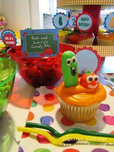 Crafty Geek Mom » Blog Archive » Veggie Tales 2nd Birthday