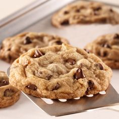 I'm always looking for the perfect, soft and chewy chocolate chip cookie!