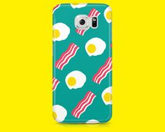 Eggs and Bacon samsung phone case Samsung by ElectricMelonUK