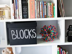 Chalkboard Boxes for Toy Storage http://www.hgtv.com/designers-portfolio/room/contemporary/kids-rooms/7509/index.html#/id-8183?soc=pinterest