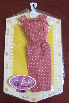Barbie Dress. This is when you could buy lots of outfits, instead of a whole new doll with an outfit.