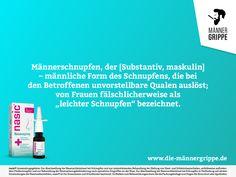 Männerschnupfen.... #männerschnupfen #schnupfen #maskulin #frauen #mann #qual #gesundheit #betroffene #ifestyle #grippe #gesund #health Humor, Top, Man Flu, Healing, Quotes, Health, Humour, Funny Photos, Funny Humor