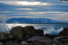 Málaga desde los Baños del Carmen
