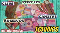 Compras de papelaria | material escolar | adesivos | post-its | canetas | iloveluly - YouTube