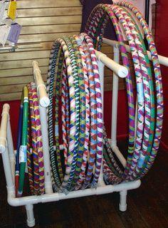 Hoop Rack Ideas on Pinterest