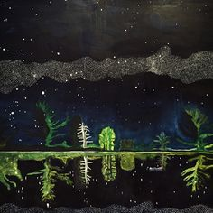 Milky Way, 1989-1990. Oil on Canvas. (Detail) — Peter Doig at @louisianamuseum.