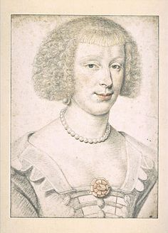 Mdm.De Roye Rochefoucald 1615-30 D.Dumoustier Reinette: Artists of the Dumonstier family