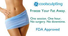 Freeze Fat CoolSculpting, a great alternative to liposuction Freezing Fat Cells, Skin Care Center, Cool Sculpting, Stubborn Fat, Help Losing Weight, Love Handles, Body Contouring, Liposuction, Plastic Surgery