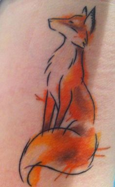 My lovely fox tattoo   #fox #tattoo #ink