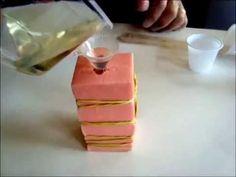 Como fazer molde bipartido com borracha de silicone TinSil 80-15 | Tutorial | Moldflex - YouTube