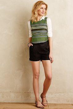 Cuffed Willa Shorts #anthropologie