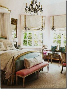 very pretty room.  i'd like these shades for my living room.