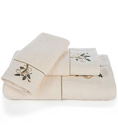 Lenox Holiday Nouveau Bath Towels Dillards