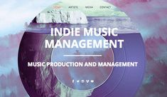 Music Production Wix Website Template & Theme | Wix Templates ...
