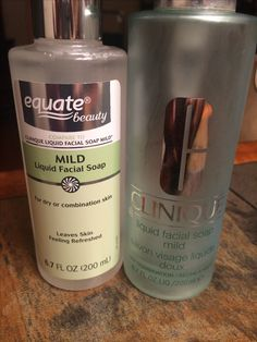 Dupe for Clinique Mild Facial Soap. Same ingredients, but the dupehas 2 additional ingredients (one is flower extract). Will give this and the Clarifying Lotion a try!