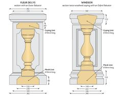 baluster section
