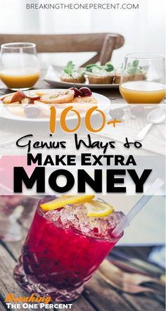 Check out this list of 100+ genius ways to make extra money from home! You're going to want to save this one for later.