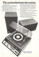 Sylvania Stereo System, 1971 Ad via Old Magazines, Vintage Magazines, Vintage Ads, Television Set, Old Ads, Magazine Ads, Antique Items, Good Old, Consumer Electronics