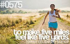 Run: hope I feel this way someday