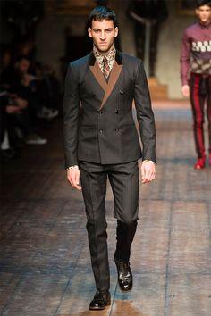 Dolce & Gabbana, Vogue Paris, New Mens Fashion, Milan Fashion, Men's Fashion, Mens Fall, Autumn Street Style, Fall Winter 2014, Gentleman Style