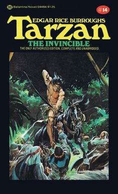 Neal Adams Tarzan the Invincible