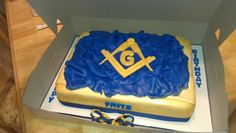 Free Mason cake