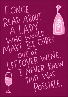 Wine Birthday card £1.99