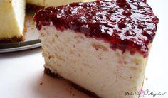 Tarta de queso al horno esponjosa. Una tarta diferente, una tarta casera con una textura suave y aterciopelada. Explicada paso a paso con foto en cada uno de ellos.